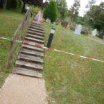 Le Grand-Saconnex: abords du cimetière du Blanché