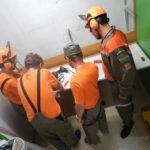 Bellevue: travaux dans l'abri et le poste de commandement de Valavran
